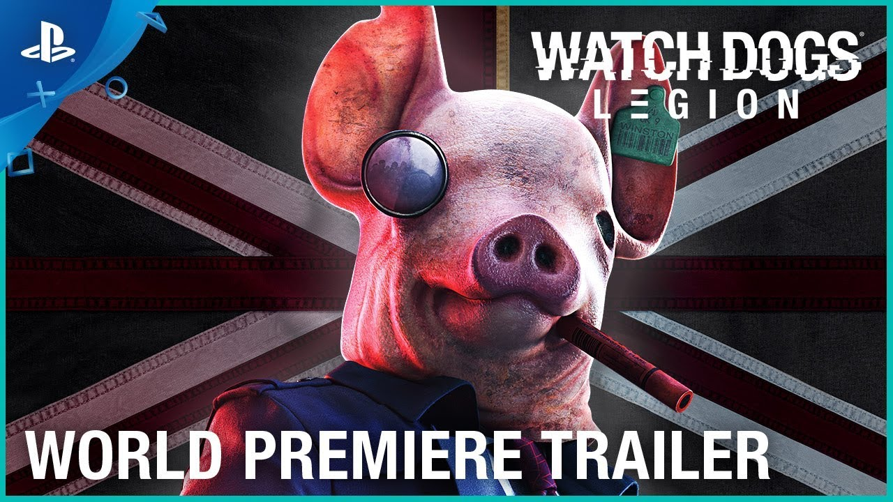 Watch Dogs Legion - E3 2019 World Premiere Trailer