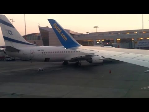 "Full Taxi and Take Off Boeing 767-322ER - TLV-KIEV - ""UIA"" - PS778"