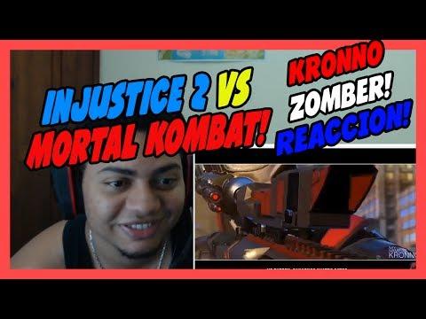 INJUSTICE 2 VS MORTAL KOMBAT VS...EPIC RAP!! - KRONNO ZOMBER - Videoclip Oficial - VIDEO REACCION!!!