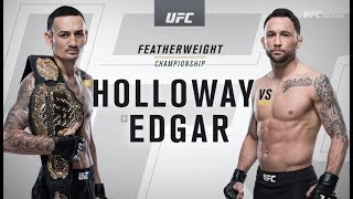 UFC 240: Max Holloway vs Frankie Edgar Recap