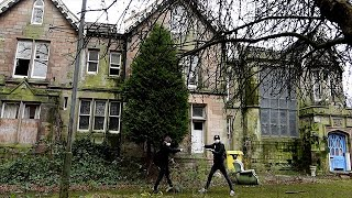 EXPLORING AN ABANDONED CARE HOME! (GONE WRONG) Part One