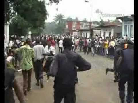 Congo Info Vidéo CIVI Spécial marche des étudiants à Kinshasa, toujours à la seconde