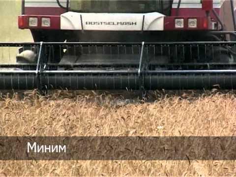 Ростсельмаш - зерноуборочные комбайны TORUM 760 и ACROS 580. Сравнительные испытания 2013