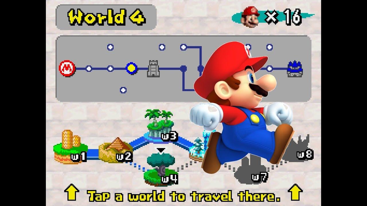 How To Unlock Mario Ds World 3