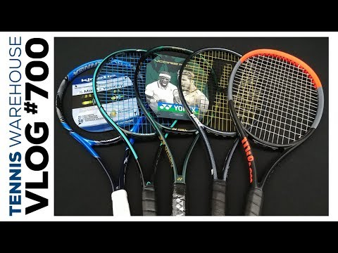 The Best Comfortable (think: PLUSH) Tennis Racquets in 2020 VLOG #700 ��