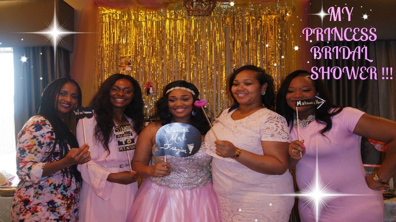 my princess bridal shower pt 1