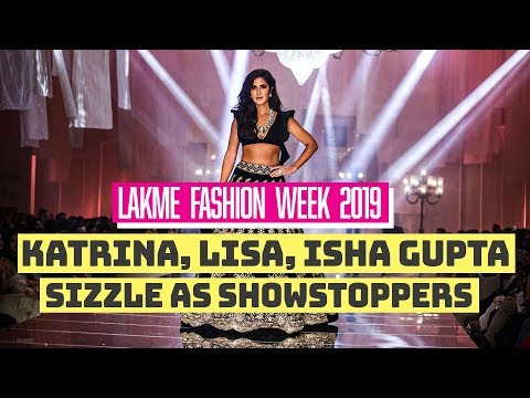 Celebrities Dazzles At Lakme Fashion Week Winter 2019