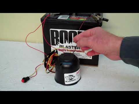 Bobcat Mad Growling Sounds Car Horn