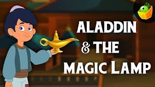 Aladdin and the Magic Lamp | English Fairy Tales For Kids - Full Movie