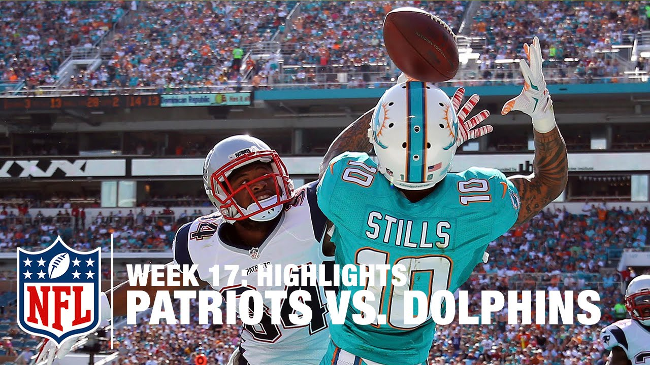 Patriots Vs Dolphins Week 17 Highlights Nfl Youtube