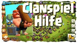 CLANSPIEL HILFE - RATHAUS 10/9 | Clash of Clans Deutsch | Let´s Play COC