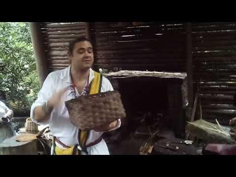 Cherokee basket weaving (part 2/2)