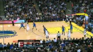 NBA Oklahoma City Thunder Vs Golden State Warriors Highlights Feb 7, 2012 Game Recap