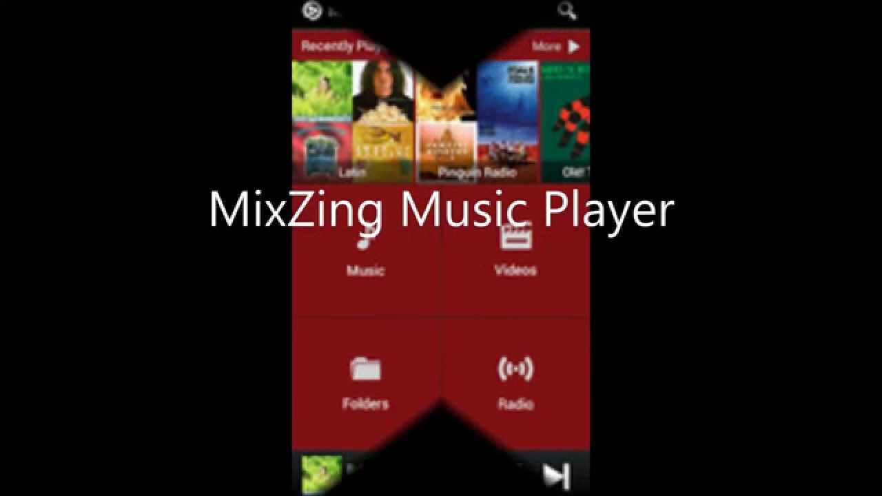 mixzing music player apk