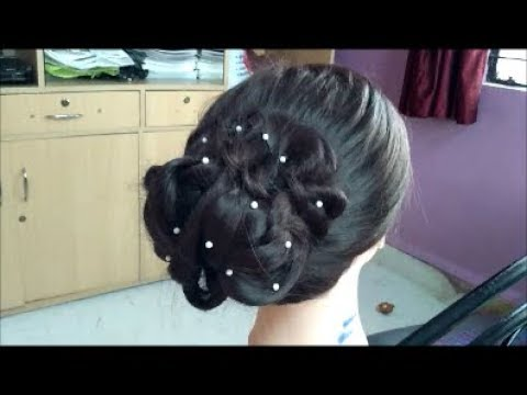 New Year Hairstyles For Long Hair : Latest rakshabandhan & new year hairstyle 2017wedding hairstyle