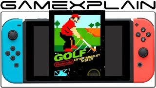 NES Golf is Hidden Within Every Switch System + Why It May Have a Special Connection to Satoru Iwata