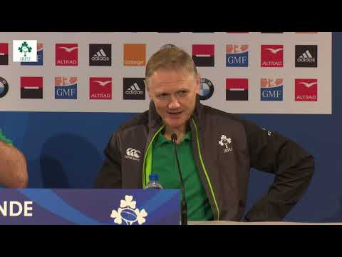 Irish Rugby TV: France v Ireland Post-Match Press Conference