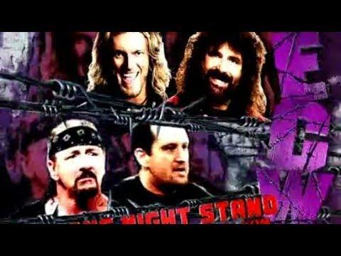 LUCHA COMPLETA Edge y Foley vs Tommy Dreamer y Terry Funk  One Night Stand 2006 | Español Latino