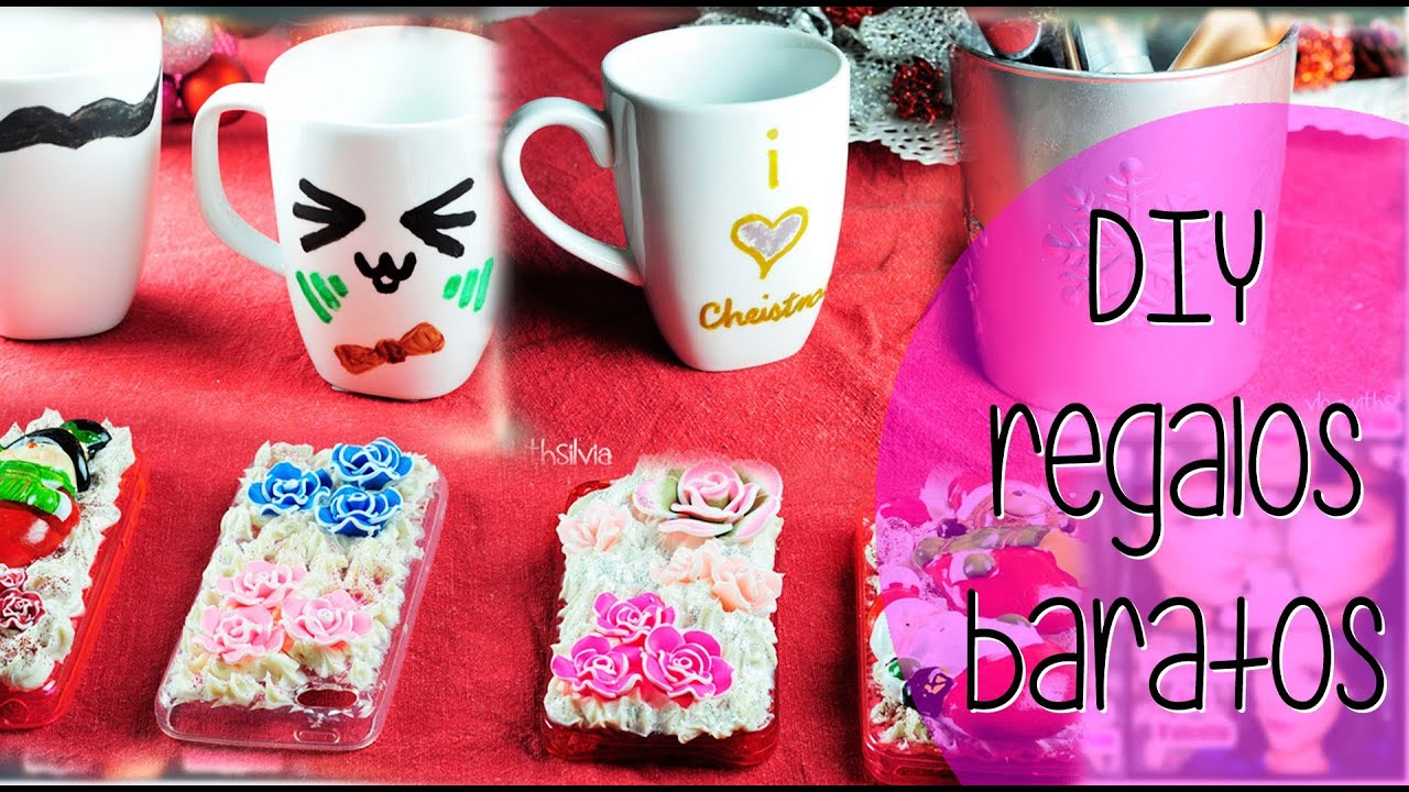 Diy regalos baratos silvia quiros youtube for Regalos caseros para amigas