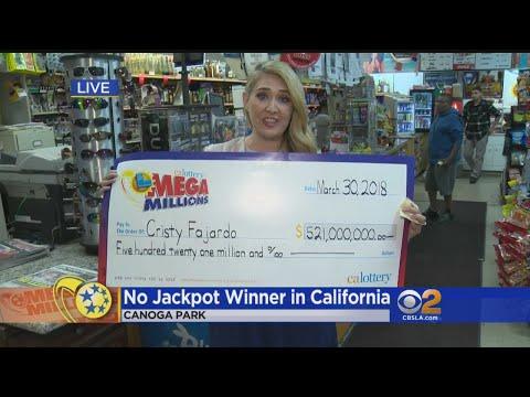 No $521M Mega Millions Winner In Golden State