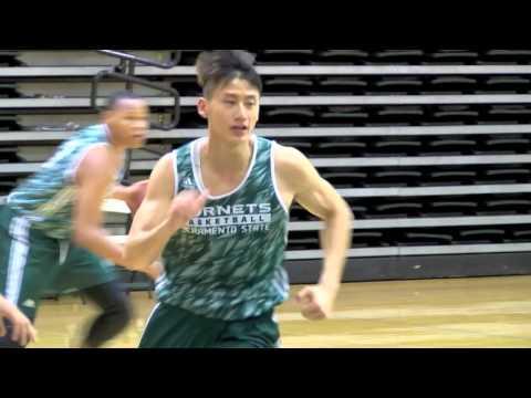 2015 Sacramento State Basketball Practice - Week 3