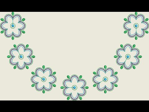 Embroidery Designs Free Design No49 Youtube