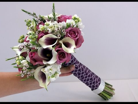 lily flower wedding bouquets diy calla and bridal bouquet 5548