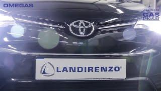 Montaż instalacji gazowej Toyota Avensis 2.0 Valvematic 152KM (112kW) Landirenzo Omegas