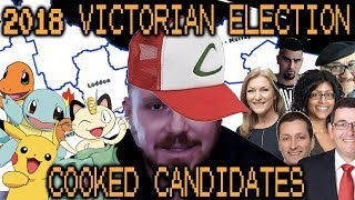 TOP 5 Victorian State Election COOKED CANDIDATES!