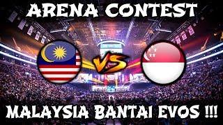 Malaysia Bantai Evos kat Arena Contest !! Malaysia vs Singapura