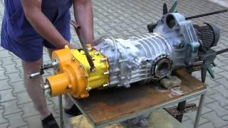 VW T3 Syncro - převodovka zadek