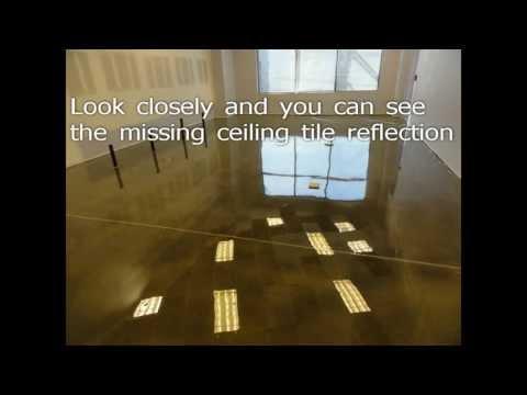 Polished Concrete - Epoxy Office Floors