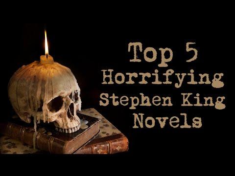 Top 5 Horrifying Stephen King Novels | National Medal Of Arts Congratulatory Tribute