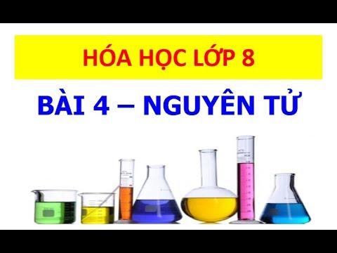 Hóa học 8 – Bài 4 – Nguyên tử