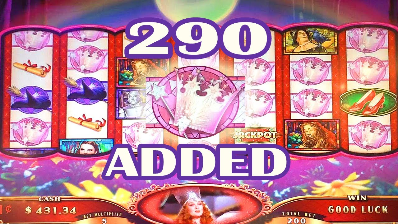 ruby slippers slot machine big win