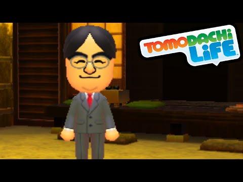 Tomodachi Life 3DS - Thank You, Mr. Iwata