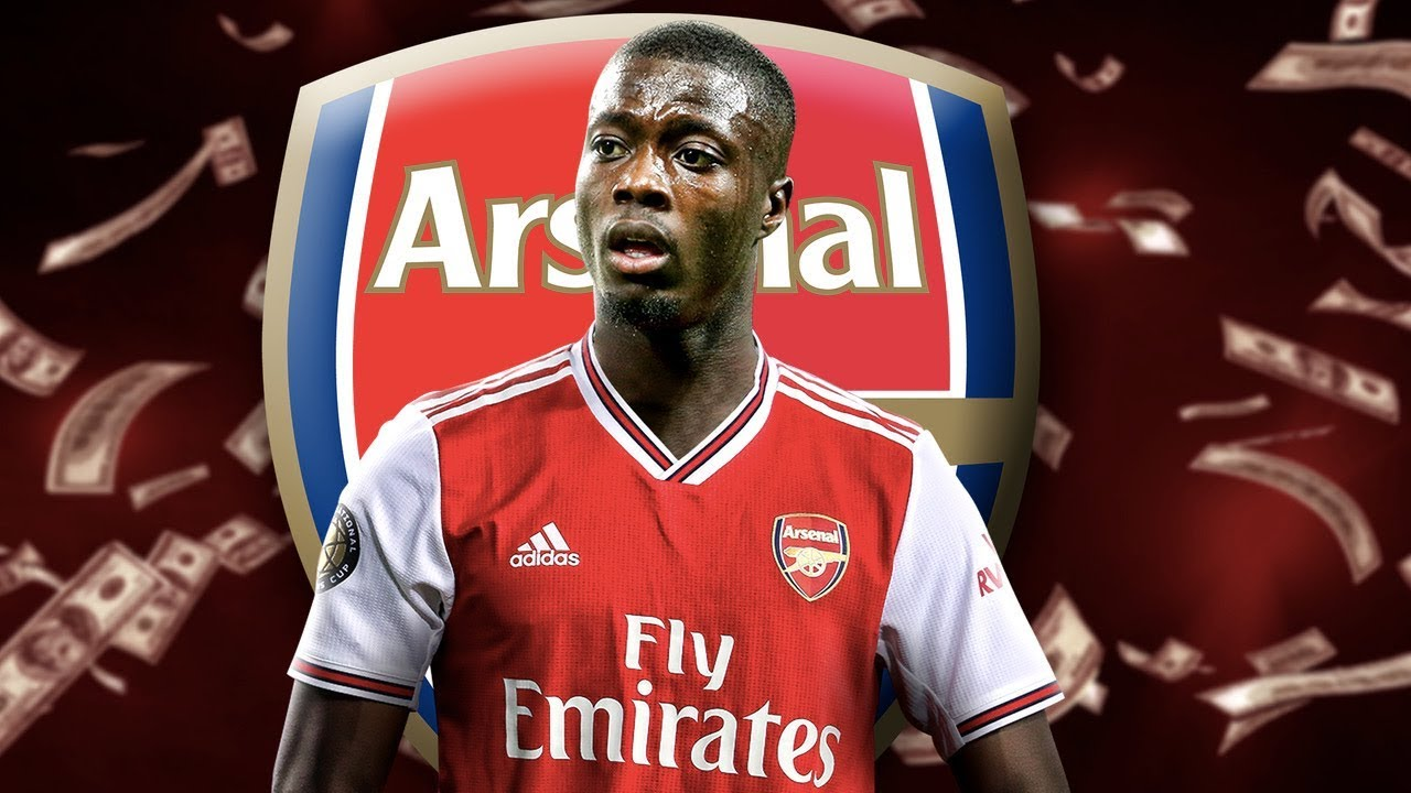 new concept b34bb 935a7 Arsenal Beat Napoli & Manchester United To £72M Nicolas Pepe Signing! | W&L