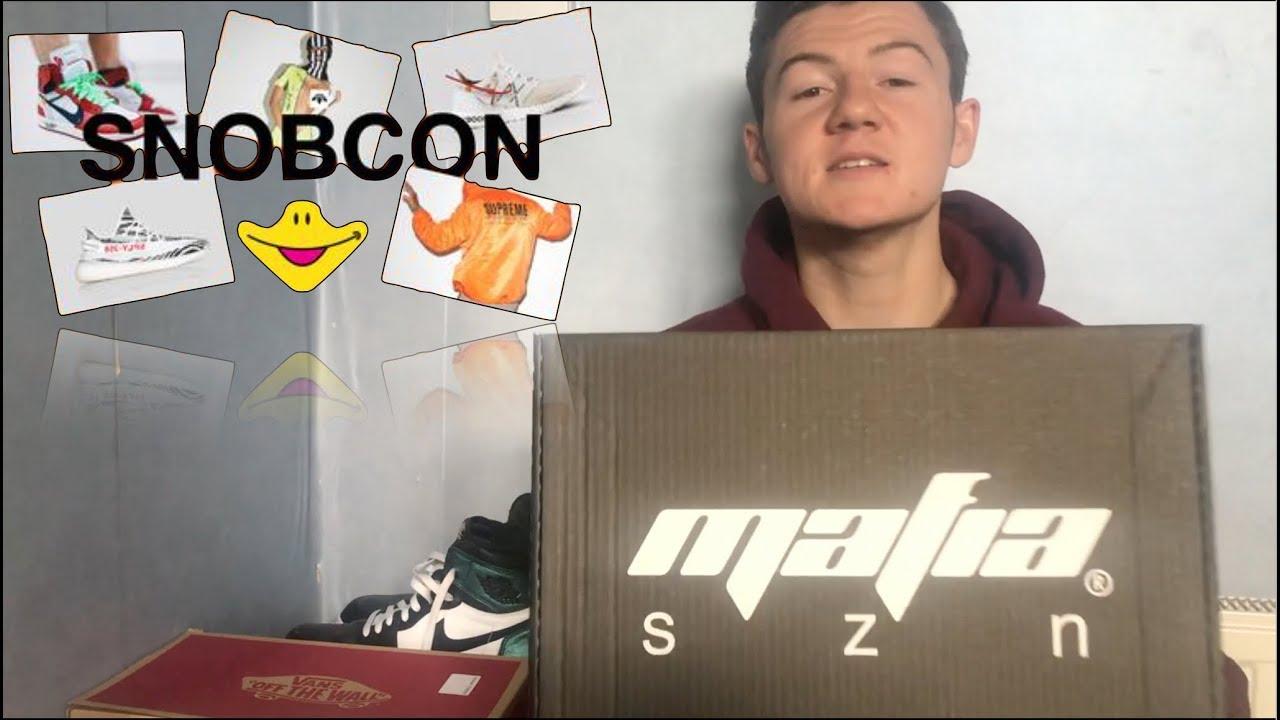 7504438db MAFIA SZN MYSTERY BOX! + SNOBCON 2017 - YouTube