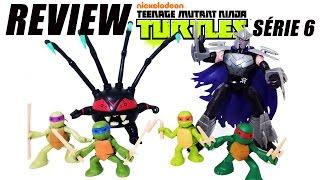 Review coleção das Tartarugas Ninja Nickelodeon - série 6
