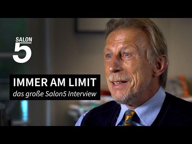 Christoph Daum: Immer am Limit | Das große Salon5-Interview