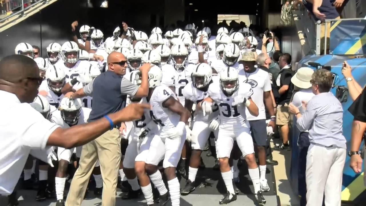 Penn State Pittteam Field Entrance Sept 10 2016 YouTube