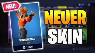 Fortnite Shop of Today - NEW SKIN Sunbird 🗻🐤 Fortnite Shop 8.3