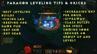 Paragon Leveling Tips & Tricks Guide for Diablo III