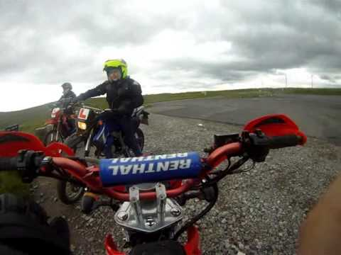 go pro road legal pit bike xy50pyie hartside pass