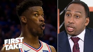 Jimmy Butler joining Harden, Chris Paul would be the 'stupidest thing' – Stephen A.   First Take
