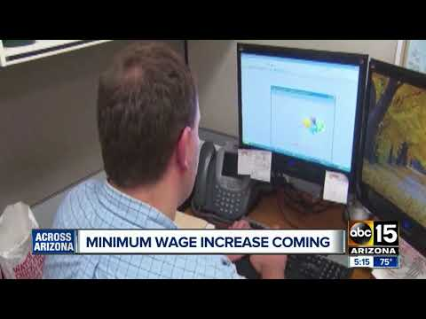 Arizona minimum wage to increase Jan. 1