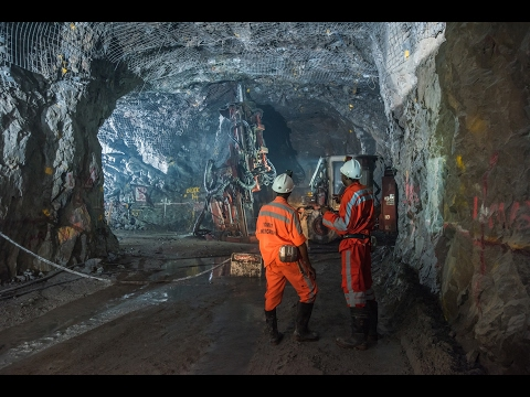 Underground Mining Using Explosives