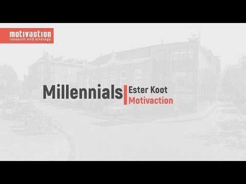 Millennials Monitor | Motivaction | Ester Koot