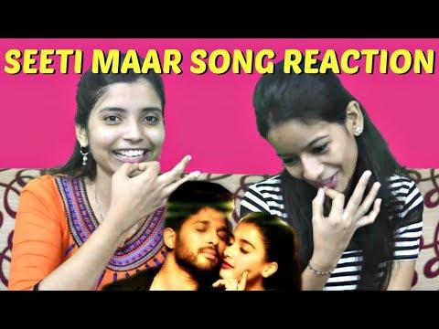 Seeti Maar Full Video Song Reaction in Marathi | DJ Video Songs | Allu Arjun | Pooja Hegde