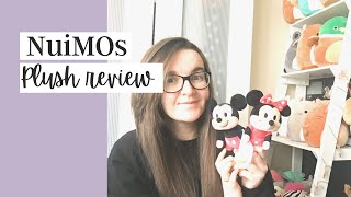 DISNEY NUIMOS | Plush review, haul and how to dress them